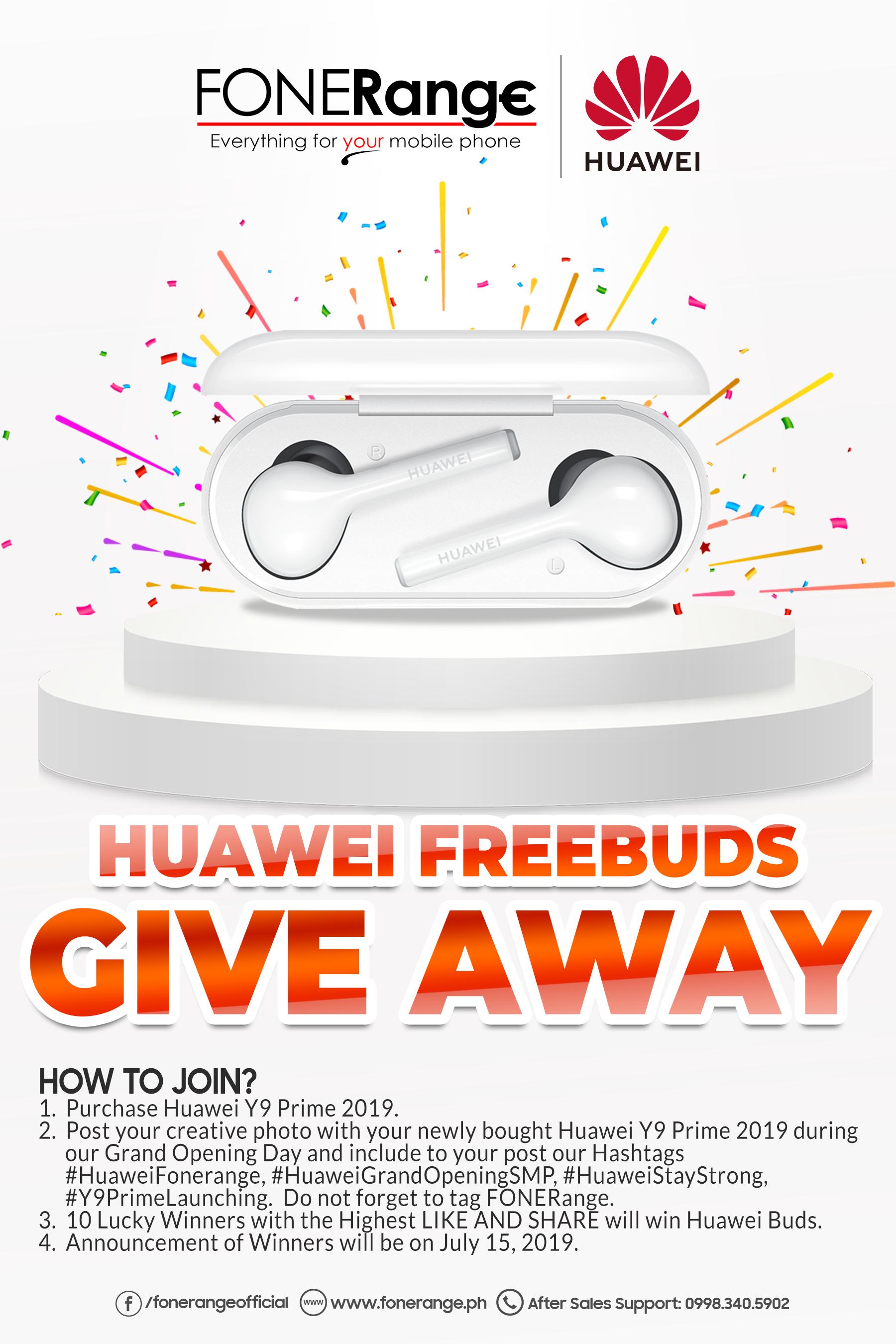 Huawei Freebuds Giveaway