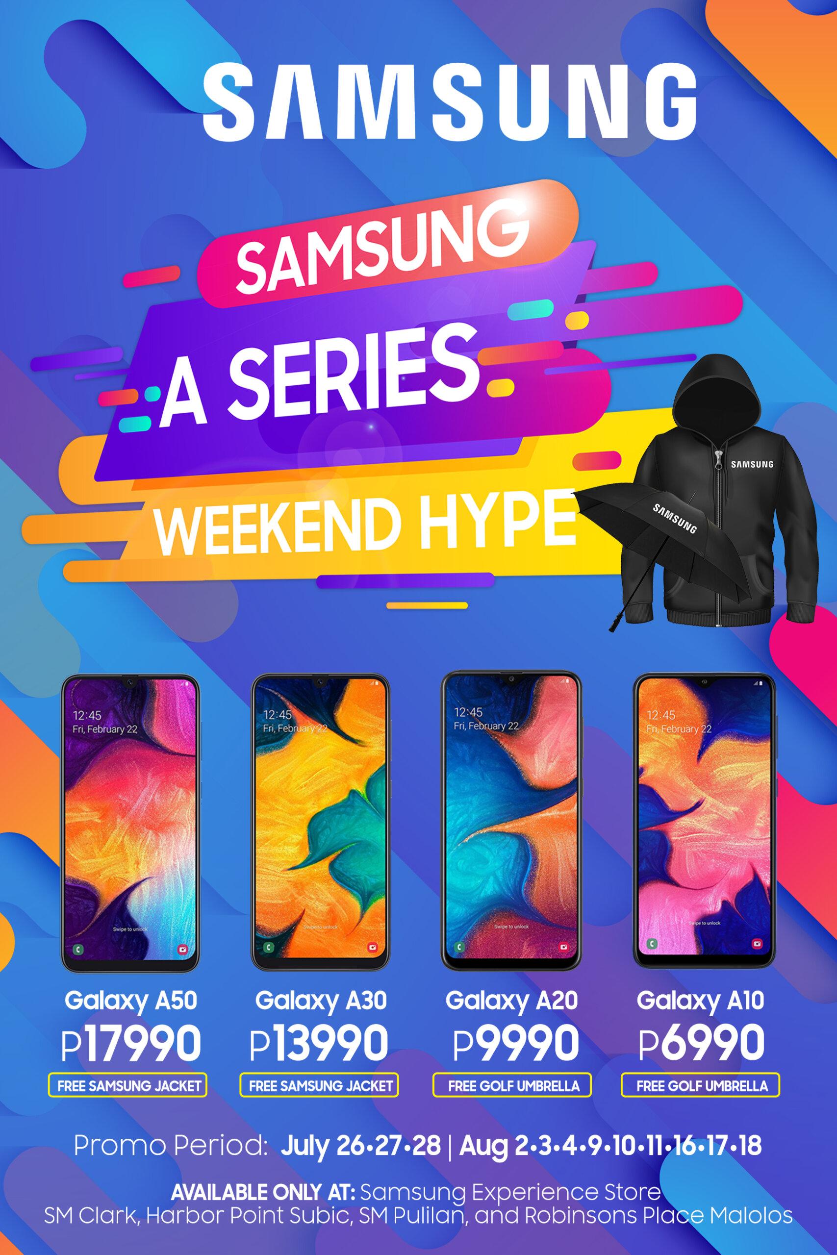 Samsung Galaxy A Series Promo