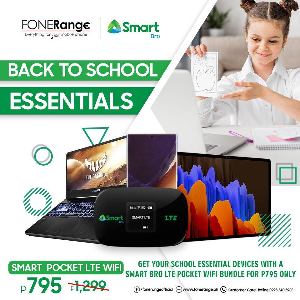 Fonerange x Smart Back to School Essential