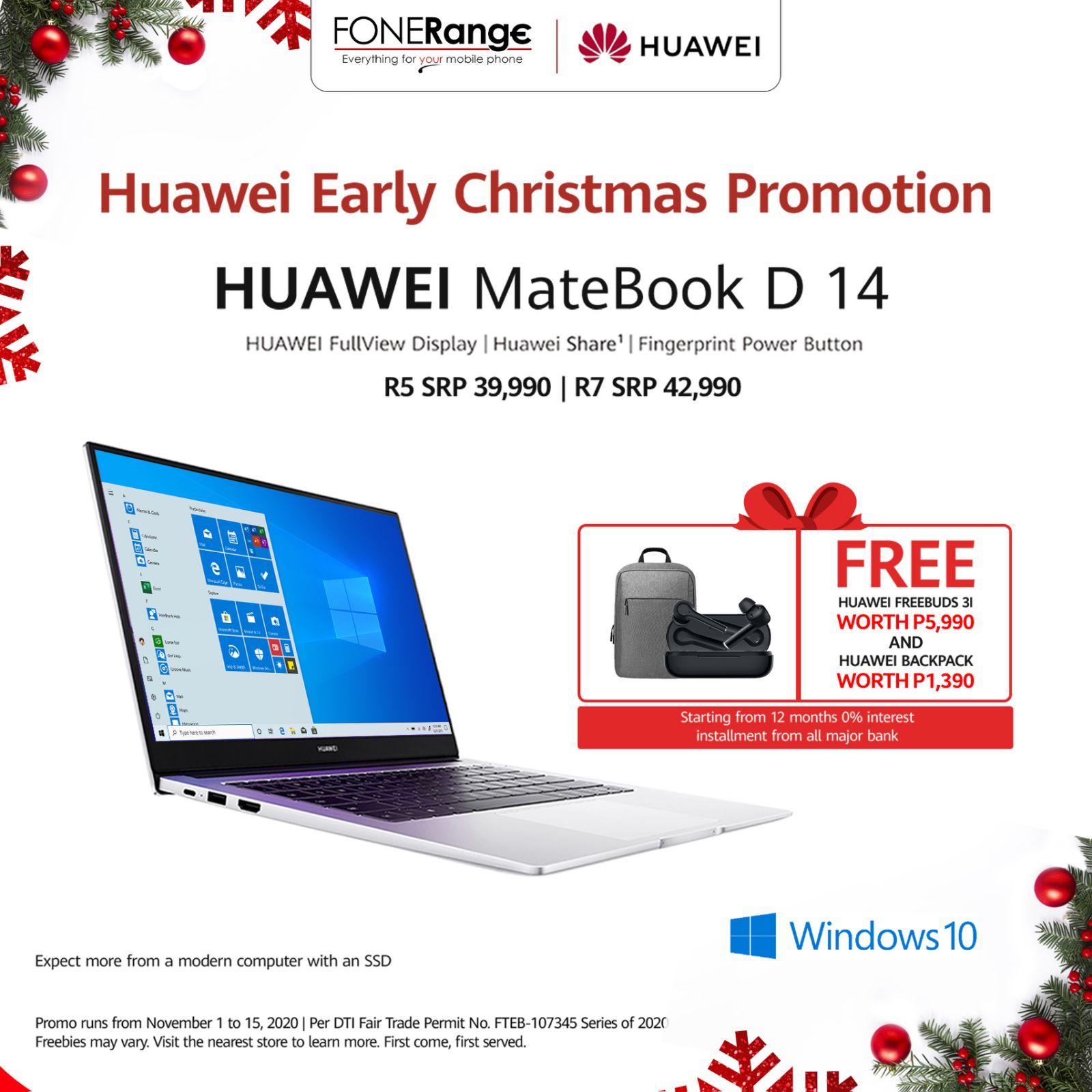 Huawei Early Christmas Promo