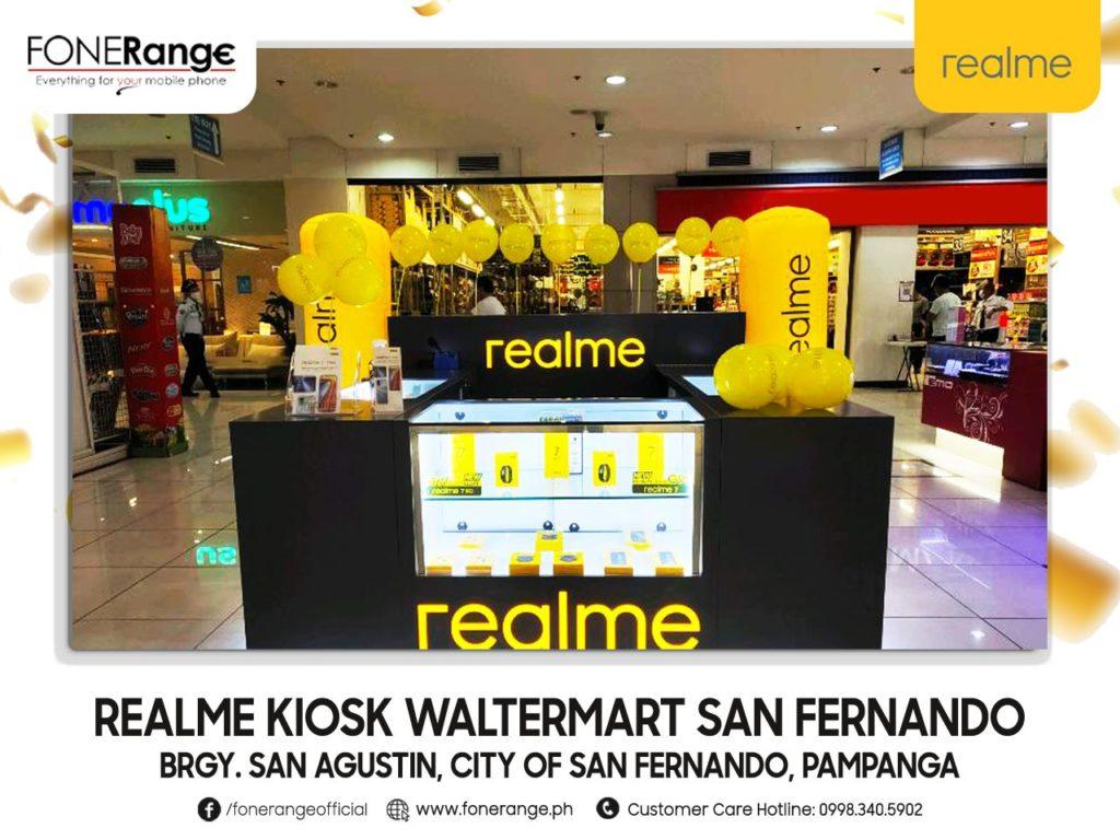 Realme Kiosk WalterMart San Fernando Grand Opening!